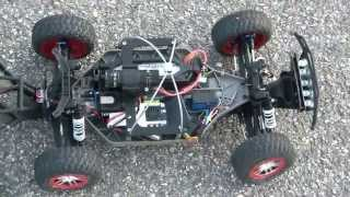 Traxxas SLASH 4x4 21/50 Lipo 4S Mamba Max Pro SCT