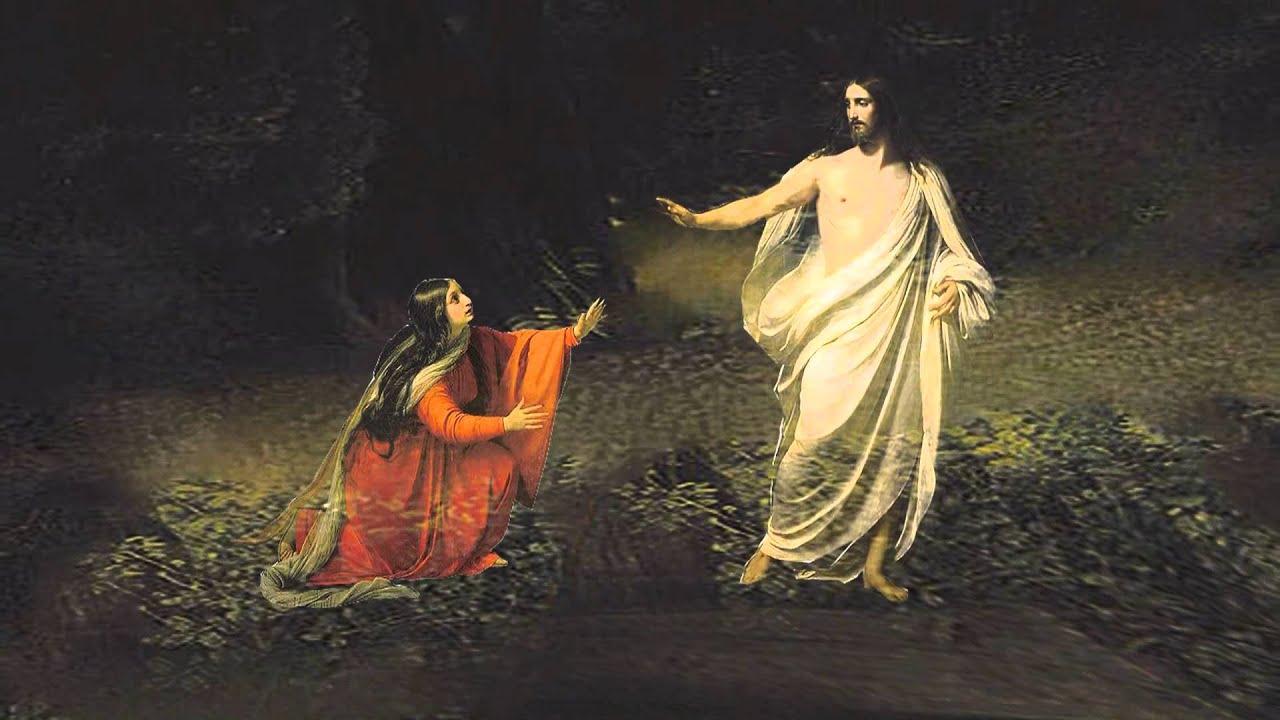 Resultado de imagem para jesus aparece a maria magdalena