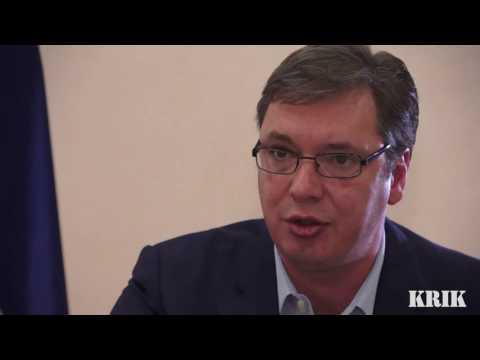 Aleksandar Vučić O Istraživanju KRIK-a O Zlatiboru Lončaru 11.04.2016.
