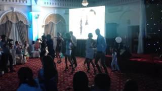 Танец, флешмоб на свадьбе у друга Алматы (Казахстан)