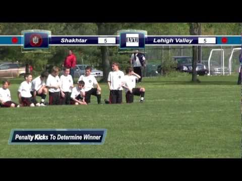 U12 Ukrainian Shakhtar vs Lehigh Valley United