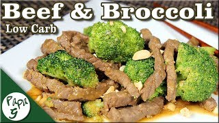 Savory Beef and Broccoli – Low Carb Keto Chinese Food Recipe
