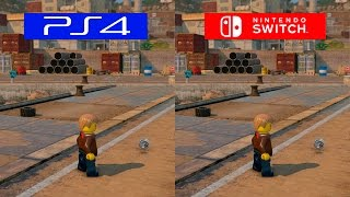 Lego City Undercover | Switch VS PS4 | GRAPHICS COMPARISON | Comparativa