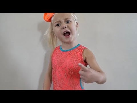 HILARIOUS DANCE CLASS WITH 4 YEAR OLD TEACHER!!! (SHE'S INSANE)