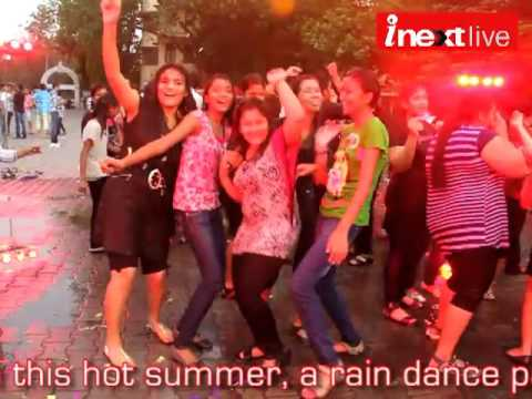 Rain dance party at Loyola School, Jamshedpur