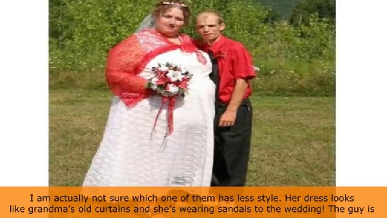 YOP10 Ugliest Wedding Dresses You'll Ever See