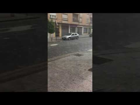 Noticias de Arnedo | Tormenta con granizo en Arnedo