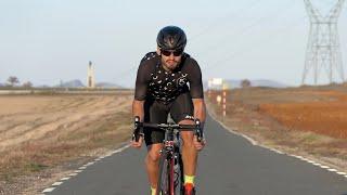 Joven con fibrosis quística hará cuatro triatlones