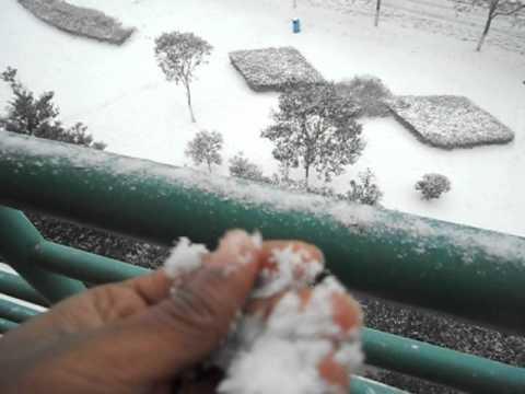 snow fall in nanchang university by eshan ahmed roni