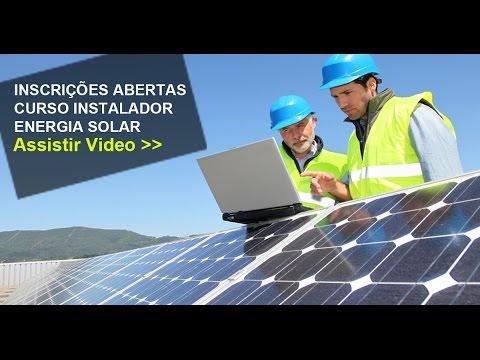 Energia Solar | Curso Online Instalador Solar de Alta Performance!
