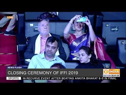 Closing Ceremony of International Film Festival Of India (IFFI) 2019