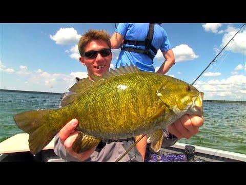 Epic Manitoba Smallmouth Bass 1v1 - FTMW vs. Uncut Angling
