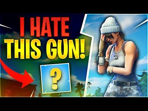 I HATE THIS GUN! (Fortnite Battle Royale)