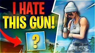 I HATE THIS GUN! (Fortnite Battle Royale) thumbnail