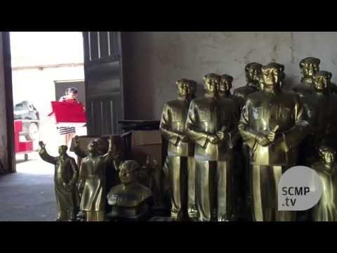 The making of Mao Zedong statues in Shaoshan