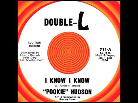 I KNOW I KNOW, Pookie Hudson, Double-L #711  1963 Mp3