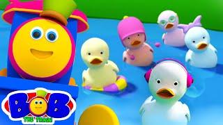 Five Little Ducks + More Nursery Rhymes & Baby Songs | Kids Cartoon | Children's Preschool Music