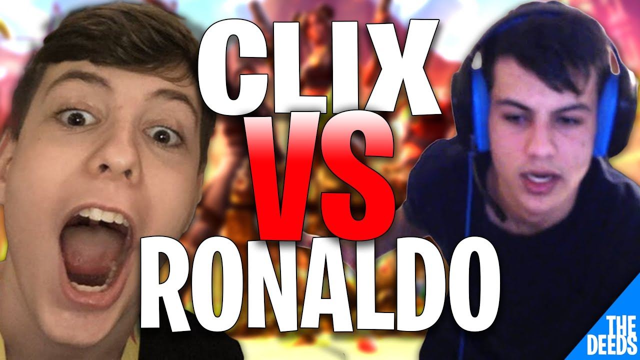 Ronaldo RAGE QUIT After Clix Tricked Him Into Zone Wars Instead Of BoxFights *FRIENDSHIP GONE*