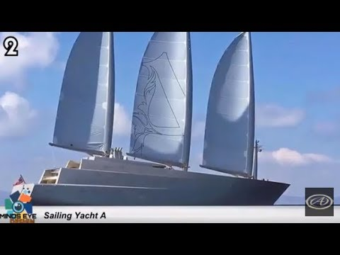 "$450M SUPER YACHT: ""Sailing Yacht A"" 