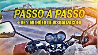 Aprenda sair com a moto passo a passo | Jeferson 108 | Como andar de Moto INICIANTES