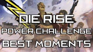 Die Rise Power Area Challenge Best Moments w/ DropHazard & IcyDynamite