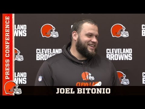Joel Bitonio: Now we need to come together and just keep improving | Press Conference