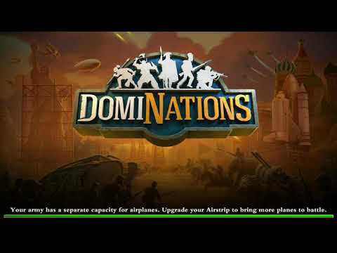 DomiNations - World War - Global Age (Industrial Age army) #1