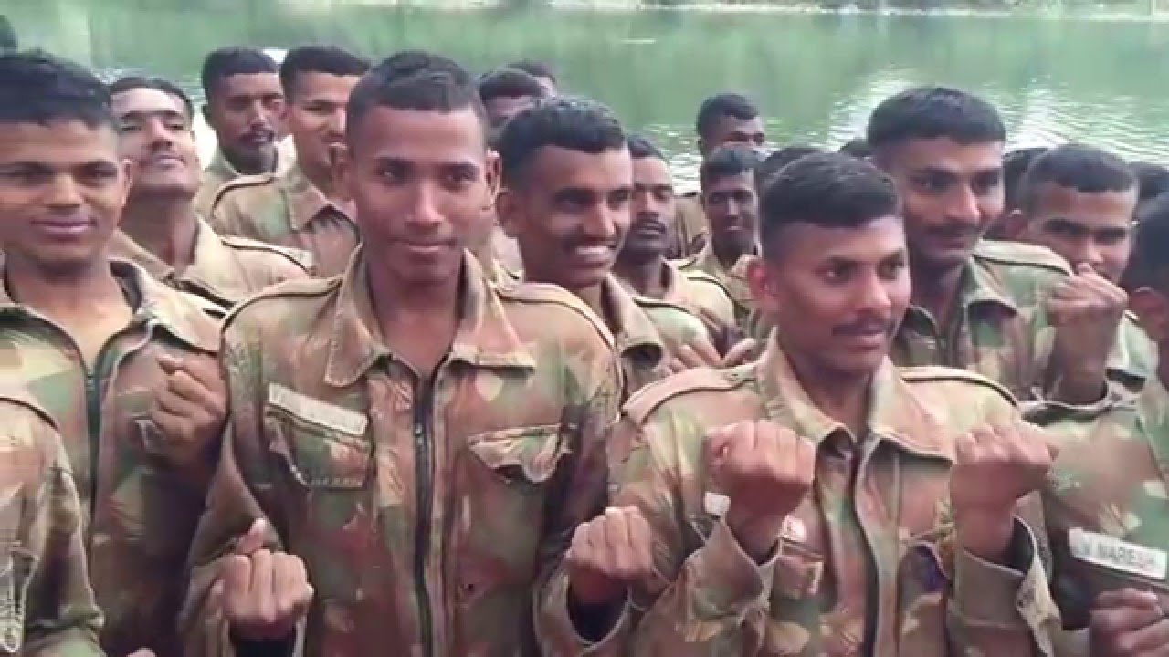 Laughter Yoga with Indian Army, Bangalore