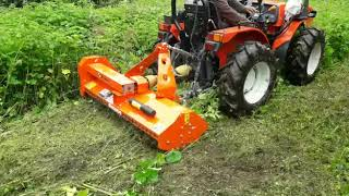 TA SICMA Flail Mower the Best Implement For Compact Tractors and Smart Farming