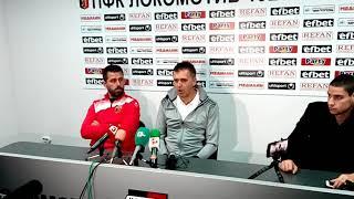SportenPlovdiv TV: Бруно Акрапович: Пуснахме лесни голове, искам 10 от Лудогорец на полусезона