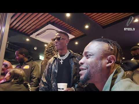 """WIZKID """"MADE IN LAGOS' ALBUM RELEASE BTS"""