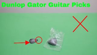 ✅ How To Use Dunlop Gator Guitar Picks Review