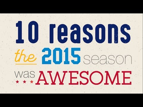 10 Reasons the 2015 Season was Awesome | NFL