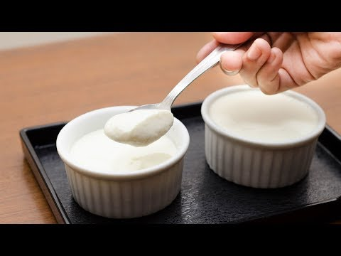 HOME MADE YOGURT IN 5 MIN. L SOUR YOGURT RECIPE L CURD RECIPE L HOME MADE DAHI