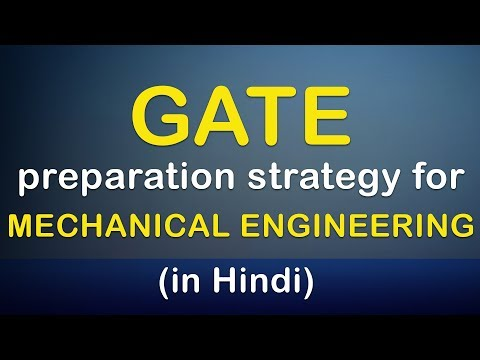 GATE Preparation strategy for Mechanical Engineering in Hindi