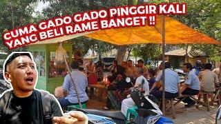GADO GADO PINGGIR KALI 5 JAM UDAH HABIS!! PEJABAT JUGA MAKAN DISINI