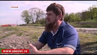 Рамзан Кадыров в преддверии летнего сезона посетил «Грозненское море»