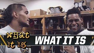 JuJu talks Heinz Field, Heinz Ketchup on What It Is | Pittsburgh Steelers