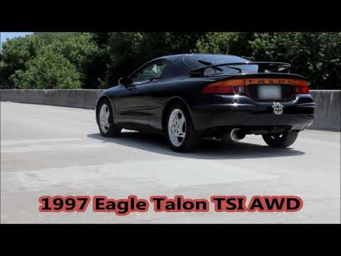 1997 Eagle Talon TSI AWD Launch and Full Throttle Pulls