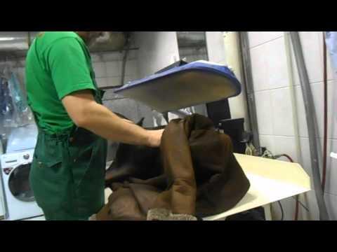 Стирка дублёнки в стиральной машине - только чистка!