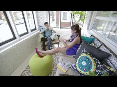Interior Design —Bright Sunroom Porch Makeover