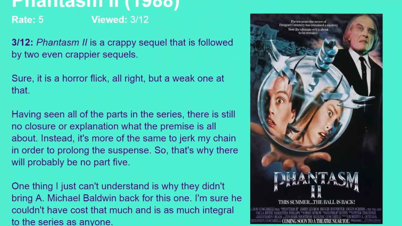 five parts of a movie review