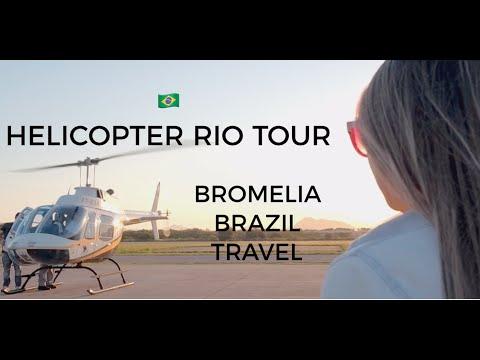 Helicopter Rio Tour | Bromelia Brazil Travel