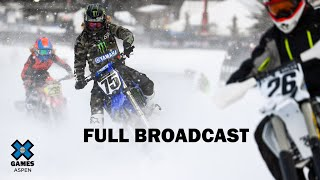 Wendy's Snow BikeCross: FULL BROADCAST | X Games Aspen 2020