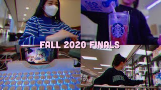 college finals week -- fall 2020 -- exam week VLOG