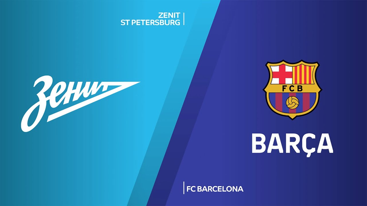 Zenit St Petersburg Fc Barcelona Highlights Turkish Airlines Euroleague Rs Round 2 Youtube