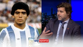 Mauricio Pochettino reveals what it is like to share a room with Diego Maradona