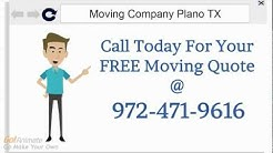 Moving Company Plano | Call 972-471-9616 | Local Affordable Movers