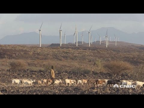 A wind farm of epic proportions is taking shape in Africa | Sustainable Energy