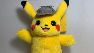 Pok mon Detective Pikachu Talking Detective Pikachu Plush Review